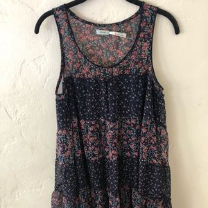 Urban outfitters floral tunic dress